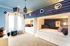 bedroom design for kids. Shared Bedroom Ideas Cute Beach Inspired Kids Design With A Cozy Carpet For Teenage Sisters