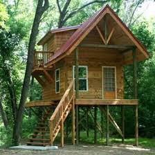 house on stilts cabin on stilts