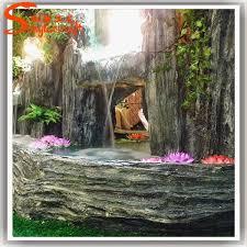 Fontana Cascata Da Giardino : Più durevole quasi naturali di grandi dimensioni fontana da