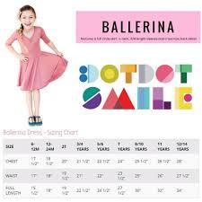 Dot Dot Smile Size Chart Dot Dot Smile Ballerina Dress Sizing And Styling Direct
