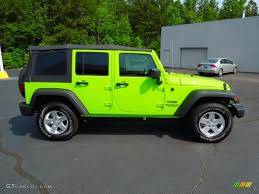 jeep gecko green