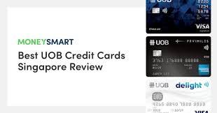 best uob credit cards in singapore
