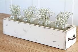 diy wood box centerpiece