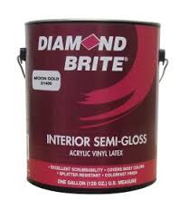 Diamond Brite Paint 21400 Semi Gloss Latex Paint Moon Gold