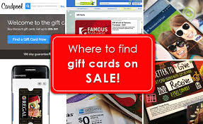 where to find a on gift cards
