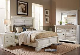 Best Home & House Ideas: Magnificent Rustic White Bedroom Furniture ...