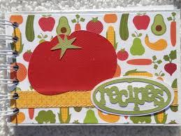 4x6 recipe card sbook al stripe with tomato on cover
