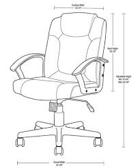 office chair drawing. designer\u0027s image™ black polyurethane manager\u0027s office chair with mid-rise back at menards® drawing