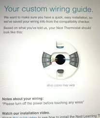 nest thermostat wire wiring diagram
