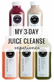 my 3 day juice cleanse experience