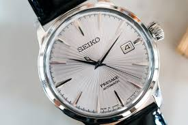 seiko presage cocktail time srpb43 limited edition replica crocodile leather strap watches uk