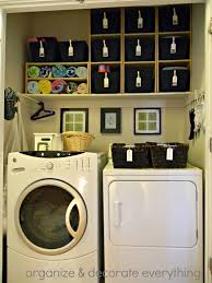 ... Perfect How To Organize A Small Laundry Room Just About Anywhere  Spacious Next Steal Create Instant ...