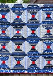 Great tutorial for this interesting variation of the Courthouse ... & Great tutorial for this interesting variation of the Courthouse Step block.  | Quilting | Pinterest | Tutorials, Log cabins and Cabin Adamdwight.com