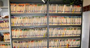 Medical Chart Shelves Storage And Organization Of Patient Records Dental Records
