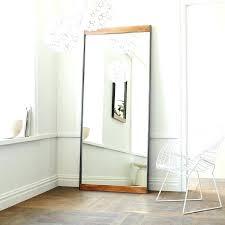 white leaning floor mirror. Restoration Hardware Floor Mirror Easy Pieces Leaning Mirrors Within White W