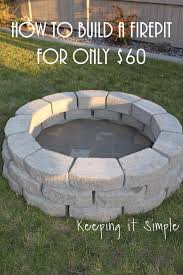 diy fireplace ideas outdoor firepit on a budget do it yourself projects and fireplaces for your yard patio porch home easy diy fire pit area d72 area