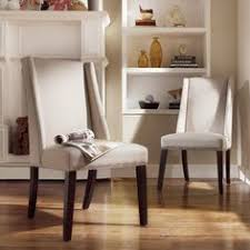 inspire q geneva grey fabric wingback hostess chairs set of 2 overstock dining room