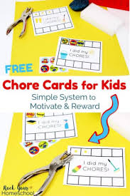 Chore Chart Ideas Archives Rock Your Homeschool