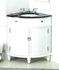 24 Bathroom Vanity And Sink Inch White Corner With