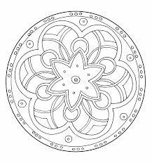Mandalas Faciles Pour Enfants 100 Mandalas Zen Anti Stress