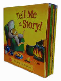 Tell Me a Story 4 Book Giftset by Marjorie Newman, Suzanne Watts |  Waterstones