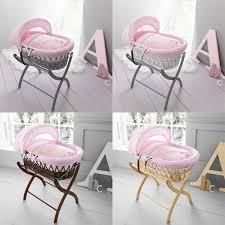 izziwotnot humphrey s corner lottie fairy princess wicker moses basket 1 of 1free