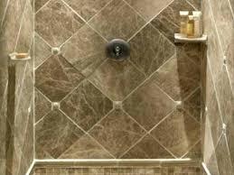 tiled shower stall shelves fiberglass insert stalls new prefab tile pan charming light in shelf