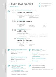 Resume Jamie Baldanza Art Director
