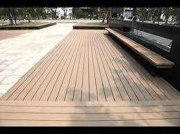 patio floor. Plastic Wood Patio Flooring YouTube Outdoor Planks Floor