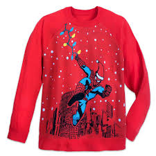 Spiderman Christmas Lights Product Image Of Spider Man Light Up Holiday Sweater For