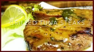 how to make grilled tuna steaks easy grilled tuna steaks recipe