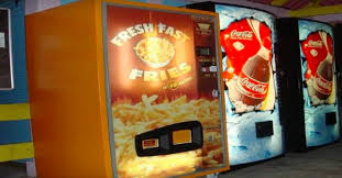 Hot Chip Vending Machine Locations Classy The FrenchFry Vending Machine Is Now A Thing Apparently