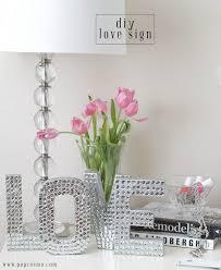 room decor diy ideas. Cardboard Letter Sequin Sayings Room Decor Diy Ideas