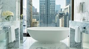 the langham chicago s infinity suite guest bathroom