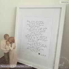 framed wedding vows. 🔎zoom framed wedding vows