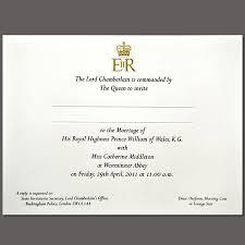 Royal Invitation Template Royal Wedding Invitation On Paper