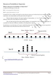 Measure of dispersion part I (Range, Quartile Deviation, Interquart…