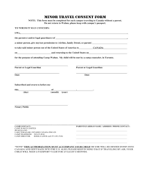 minor travel consent forms in pdf