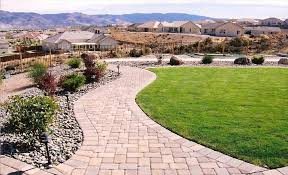 Small Picture Designing Garden Pathways Natural Stone Steve Snedekers