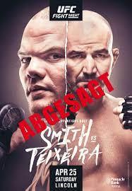 UFC Fight Night – Smith vs Teixeira ...