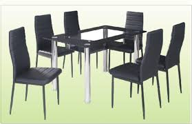 coaster glass top dining table round glass dining table set