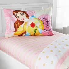 disney belle enchanted belle bedding sheet set exclusive com