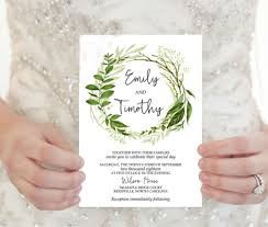 20 Elegant Wedding Invitation Templates Word Psd Ai