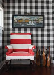 Gingham Wallpaper new england home mag cococozy vichy gingham black white wall 5222 by guidejewelry.us