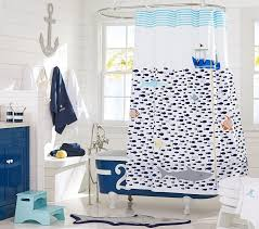 Cool shower curtains for kids Elephant Pottery Barn Kids Under The Sea Shower Curtain Pottery Barn Kids