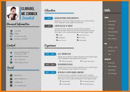 10 Creative Cv Templates Free Microsoft Word Forklift Resume