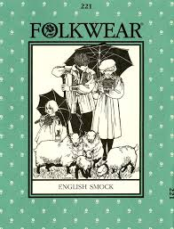 Folkwear Patterns Enchanting Folkwear 48 English Smock Folkwear Patterns Vogue Fabrics