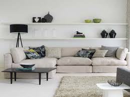 Floating Shelves Around Tv Stunning Living Room Floating Shelves Pictures