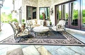 outdoor patio rugs outdoor patio rugs full size of stamped concrete as sets with unique