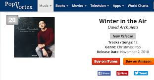 David Archuleta Winter In The Air Weekend 3 Christmas